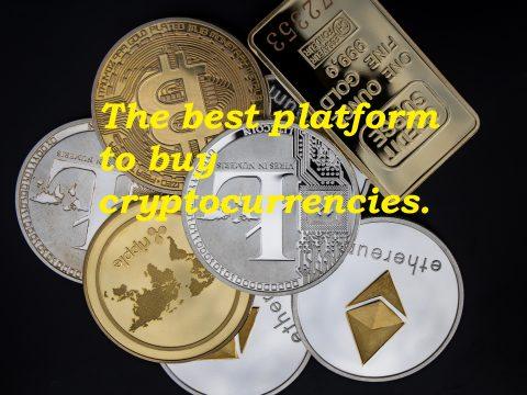 The best platform to buy cryptocurrencies.